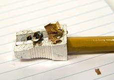 vässad blyertspenna 2 royaltyfri bild
