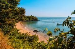 VästafrikaGuinea Bissau Bijagos ö royaltyfri bild