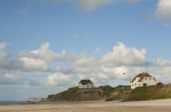 Västkusten Danmark Royaltyfri Bild