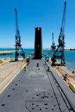 Västra Australien för HMAS-ugnar maritimt museum Arkivfoto