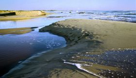 Västra australiensisk strand Arkivbild