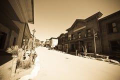 västra avlägsen town Royaltyfria Bilder