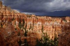 Västra Bryce Canyon Utah USA royaltyfria foton