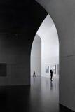 Västra Bund Shanghai Kina för långt museum Royaltyfri Fotografi