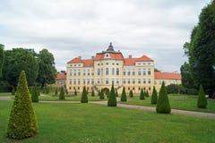 västra central mer stor voivodeship för slottpoland rogalin Royaltyfri Bild