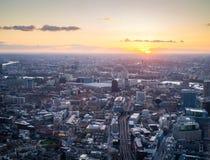 Västra centrala London Arkivfoton