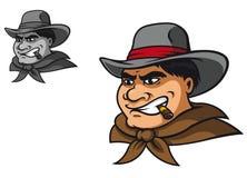 Västra cowboy Royaltyfri Fotografi