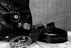 Västra cowboystilleben Royaltyfri Bild