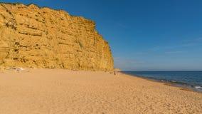 Västra fjärd, Jurassic kust, Dorset, UK Arkivbilder