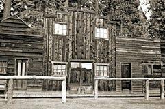 västra gammalt lager Fotografering för Bildbyråer