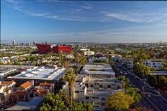 Västra Hollywood i Los Angeles arkivbild