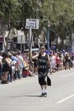 Västra Hollywood, Los Angeles, Kalifornien, USA, Juni 14, 2015, 40th årliga bög Pride Parade för LGBT-gemenskap, ner Santa Monica arkivfoto