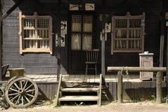 västra hus Arkivfoto