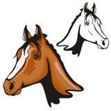 västra illustrationserie Royaltyfria Bilder