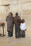 västra israel jerusalem vägg Arkivbilder