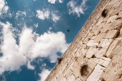 västra israel jerusalem vägg Royaltyfri Fotografi