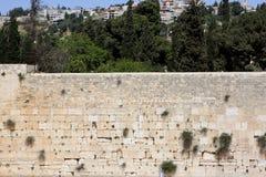 västra jerusalem vägg Fotografering för Bildbyråer