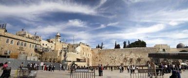 västra jerusalem vägg Arkivbilder