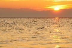 västra kirby solnedgång Fotografering för Bildbyråer