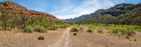Västra klar liten vik Arizona arkivfoto