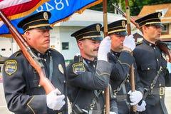 Västra krökning, WI-polisen Fotografering för Bildbyråer
