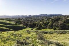 Västra kullar Kalifornien Arkivfoto