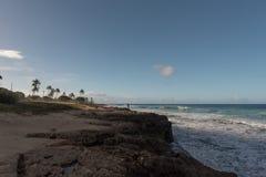 Västra kust, Oahu Arkivbild