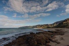 Västra kust, Oahu Royaltyfri Fotografi