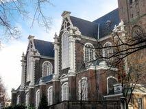 Västra kyrkliga Amsterdam Royaltyfri Fotografi