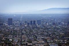 Västra Los Angeles royaltyfri bild