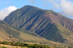 Västra Maui berg Maui Hawaii Arkivfoto