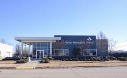 Västra Memphis Steel, västra Memphis Arkansas Royaltyfri Fotografi