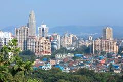 Västra Mulund, förort av Mumbai Royaltyfri Foto