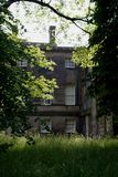 västra nostellpriory - yorkshire Royaltyfria Bilder