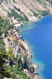 västra oregon för lake för fjärdchaskikrater kust Arkivbild
