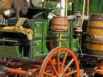 västra s-vagn Arkivfoto