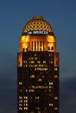 Västra skyskrapa för marknad 400 i Louisville, Kentucky Fotografering för Bildbyråer