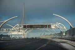 Västra snabb diameter, speedway royaltyfri fotografi
