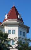 Västra stilbyggnad royaltyfri bild