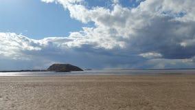 Västra strand Arkivbild