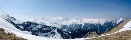 Västra Tatras Royaltyfri Fotografi