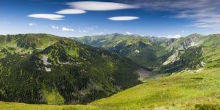 Västra Tatras berglandskap Royaltyfri Bild