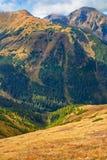 VÄSTRA TATRAS Tatra nationalpark Carpathian montering arkivfoto