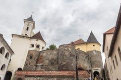 Västra Ukraina, Carpathians i sommar arkivfoto