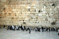 västra vägg Arkivfoto