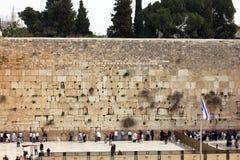 Västra vägg, Jerusalem, Israel Royaltyfria Foton