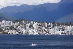 Västra Vancouver Arkivbild