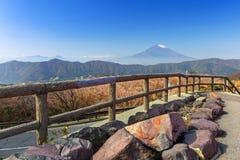 västra vinter för 100km fuji japan monteringstokyo sikt Royaltyfria Foton