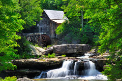 Västra Virginia Grist Mill Arkivbild