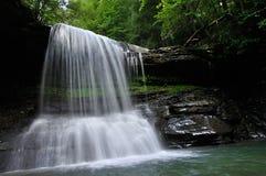 Västra Virginia Mountain Waterfall Royaltyfri Bild